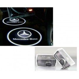 Deux Pico Projecteurs Logo LED pour MERCEDES ML W164