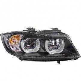 PHARES ANGEL EYES XENON POUR BMW SERIE 3 E90 E91