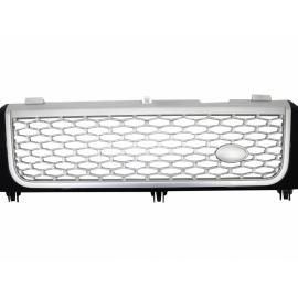 Calandre Noir/Silver pour Range Rover L322 Vogue