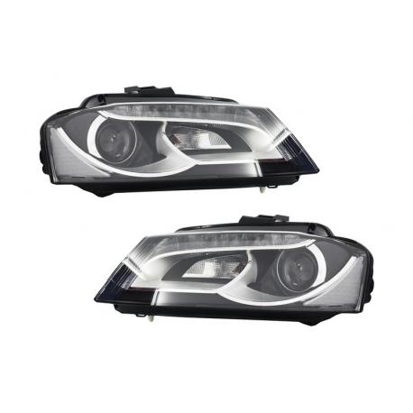 phares look xenon led audi a3 8p 08 12 audi a3 8p 08 12 a seulement. Black Bedroom Furniture Sets. Home Design Ideas