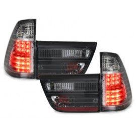 Feux LED Cristal teintés pour BMW X5 E53 99-03
