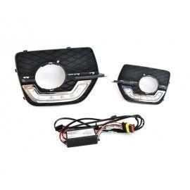 Feux de jour diurne LED pour BMW X6 E71 Grilles Anti-brouillard