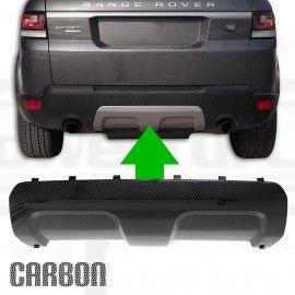 PROTECTION DE PARE-CHOCS AVANT LOOK CARBONE POUR RANGE ROVER SPORT L494