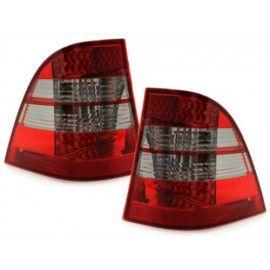 Feux LED rouge teinté pour Mercedes ML W163 98-05