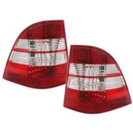 Feux LED rouge/blanc pour Mercedes ML W163 98-05