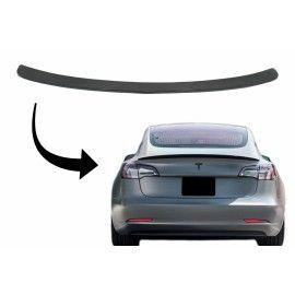 Spoiler Tesla model 3 en Carbone