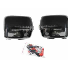Coques de rétroviseurs Noir avec clignotant LED Mercedes classe G W463