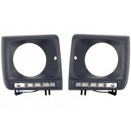 Cadres de phares + Feux LED intégrés Mercedes classe G W463