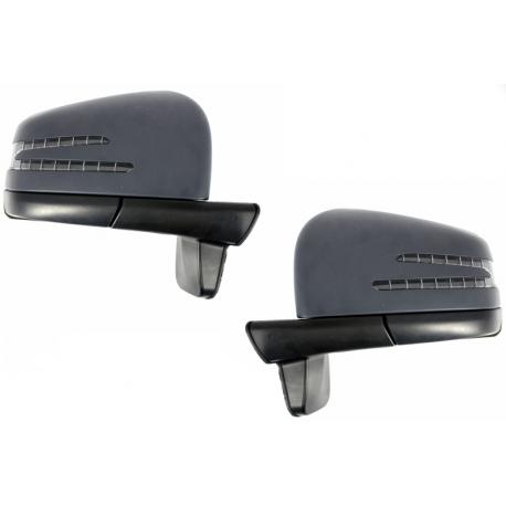 retroviseur complet look amg pour mercedes classe g w463. Black Bedroom Furniture Sets. Home Design Ideas