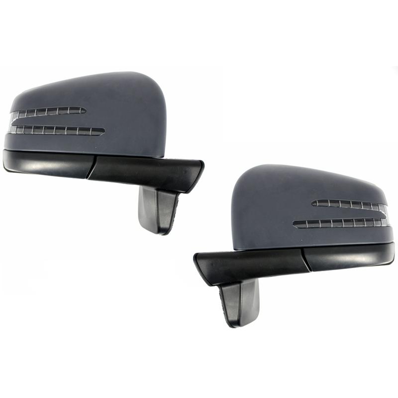 retroviseur complet look amg pour mercedes classe g w463 ce syst me. Black Bedroom Furniture Sets. Home Design Ideas